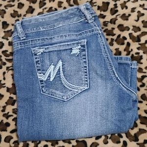 Maurices 5/6 regular blue jeans